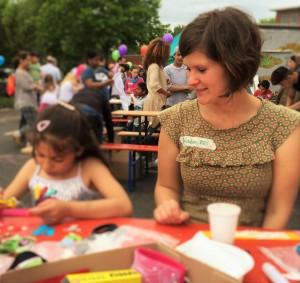 Willkommensfest Herkulesstrasse 22. Mai 2016