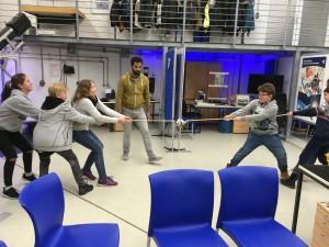 Unterrichtsgang zum Deutschen Zentrum für Luft – und Raumfahrt