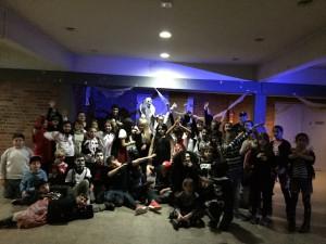 4.11. SV veranstaltete eine Halloween-Party für die 5er