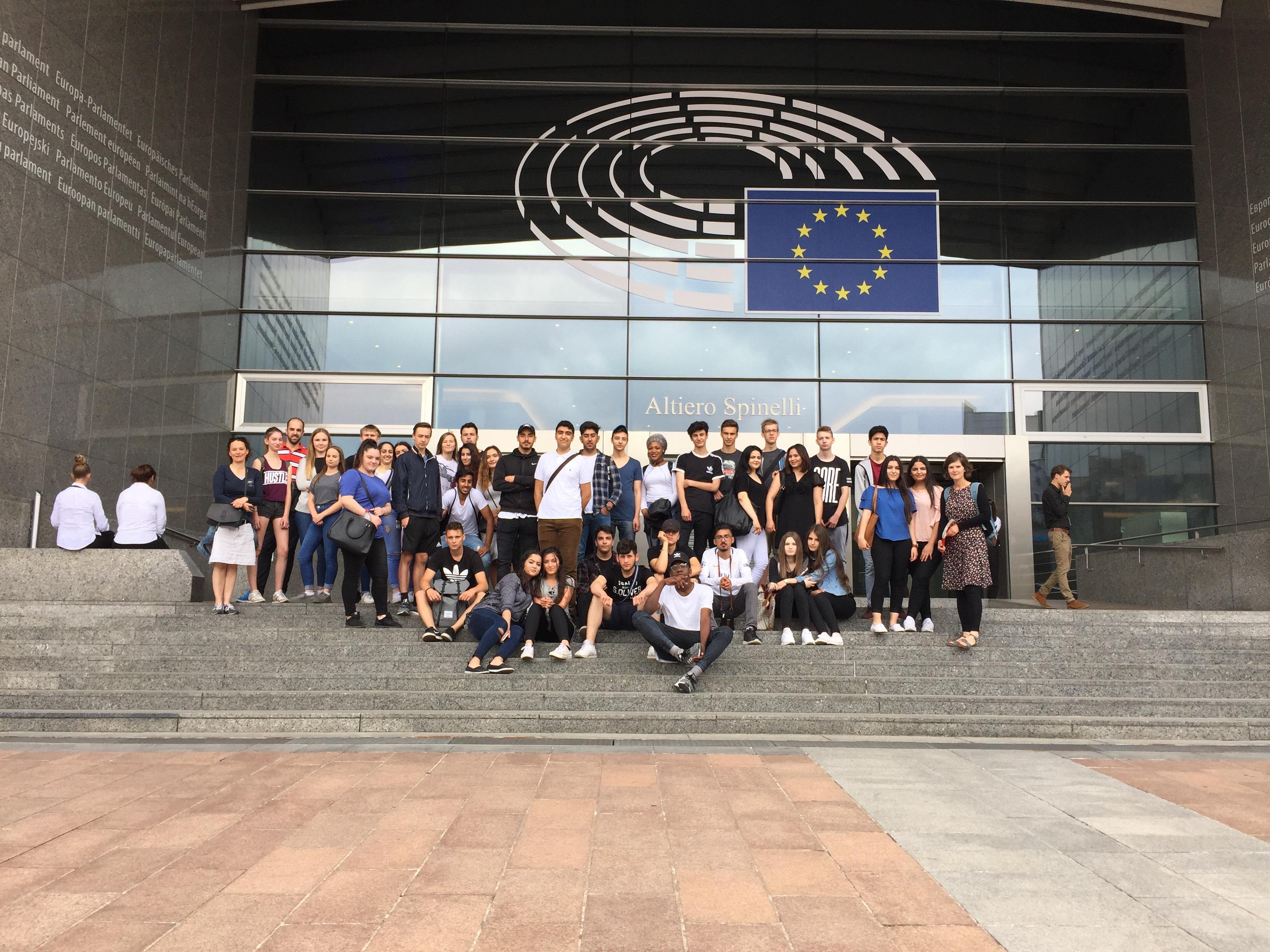 Tagesfahrt nach Brüssel mit den WP- Kursen Französisch und Sozialwissenschaften