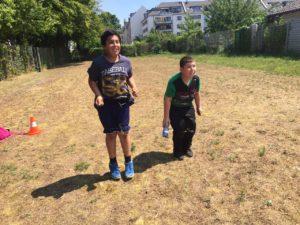 Sport – und Spielefest und Begrüßung der neuen 5er