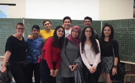 10d trifft Austauschschüler/innen aus Kayseri/Türkei