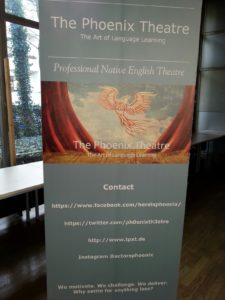 Das Phoenix Theatre an der Eichendorff-Realschule