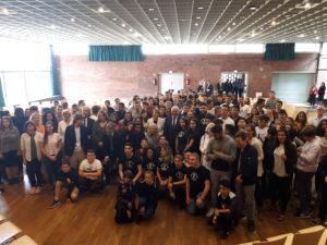 Bundespräsident Steinmeier zu Besuch an der Eichendorff-Realschule